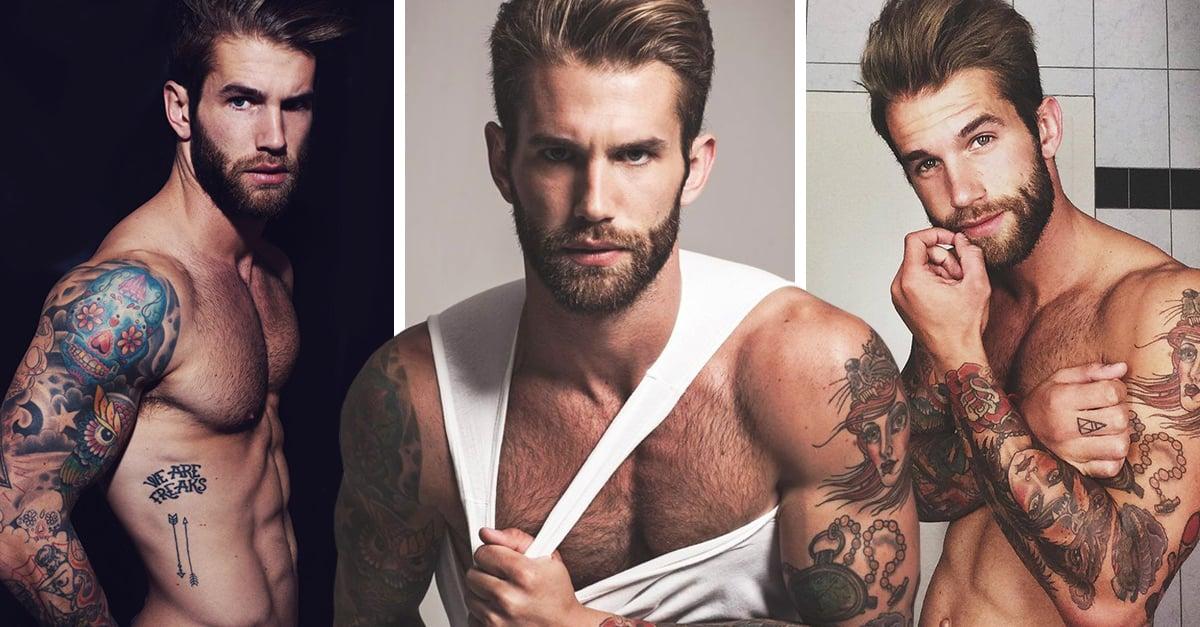André Hamann el modelo alemán que te hará suspirar con solo verlo; es increíblemente sexi