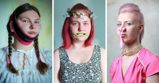 Beauty Warriors, la serie de fotos que ridiculiza la aspiración por la perfección
