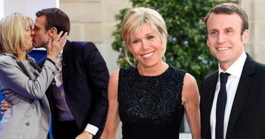 Brigitte Macron admitió que ha sido difícil soportar las críticas sobre la diferencia de edad con su esposo Emmanuel