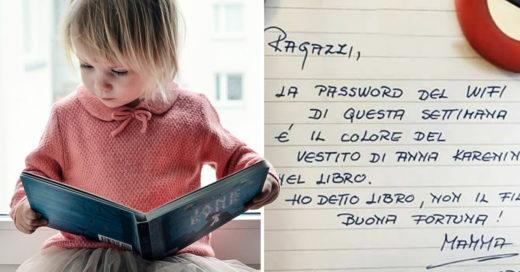 Portada niña leyendo libro cuentos nota