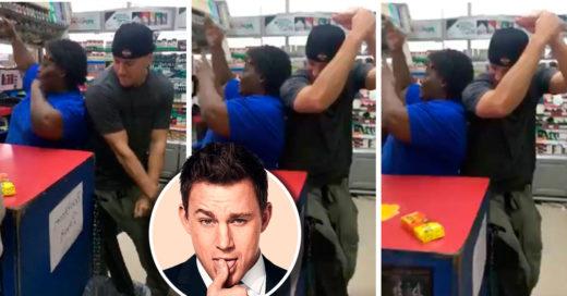 Channing Tatum le ofrece un baile sensual a la dependienta de una gasolinera