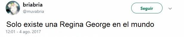 Tuit de Regina George
