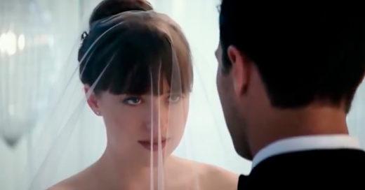 Cincuenta Sombras Liberadas revela su primer adelanto; Anastasia luce hermosa en su vestido de boda