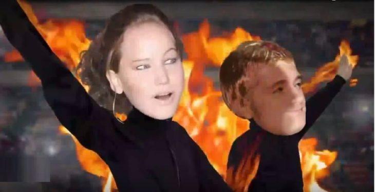 Katniss Everdeen y Peta