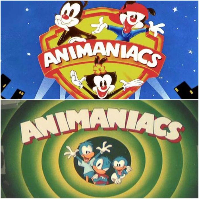 Caricaturas de los años 90