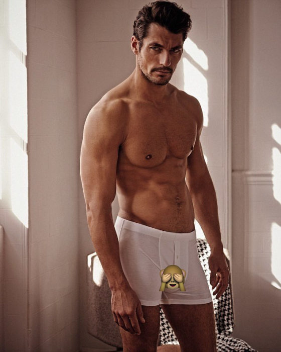 David Gandy boxer blancos