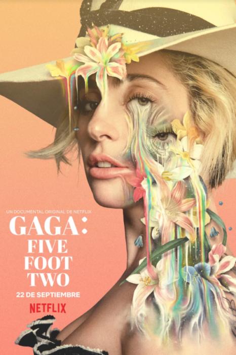 Publicidad para el documental de la vida de Lady Gaga