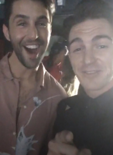 Drake y Josh durante los premios MTV Music Awards