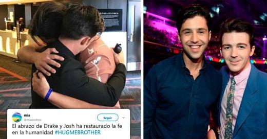 Oficialmente Drake y Josh dejaron el drama y se reconciliaron