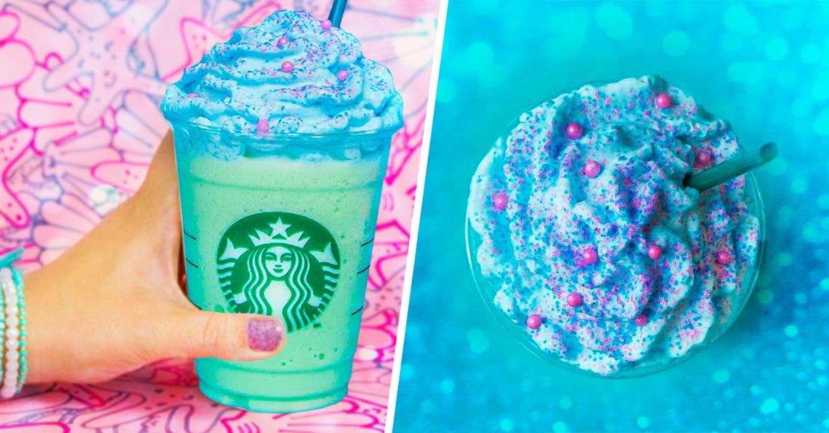 El Frappuccino Sirena de Starbucks es sencillamente hermoso y con un sabor especial