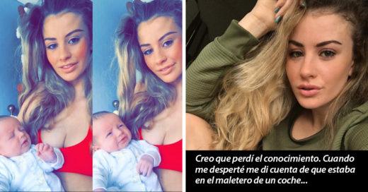 Esta modelo británica fue secuestrada y liberada cuando descubrieron que era madre