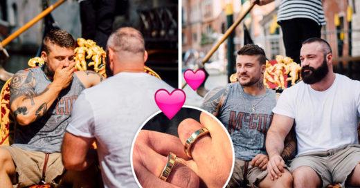 Exsaltador olímpico recibe romántica propuesta de matrimonio en Venecia