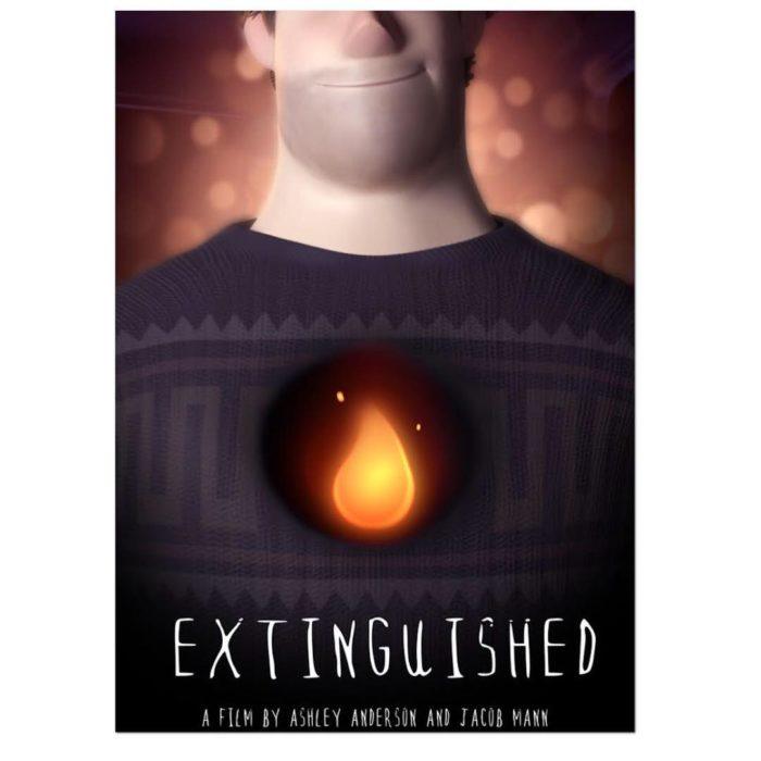 cartel de extinguished cortometraje animado
