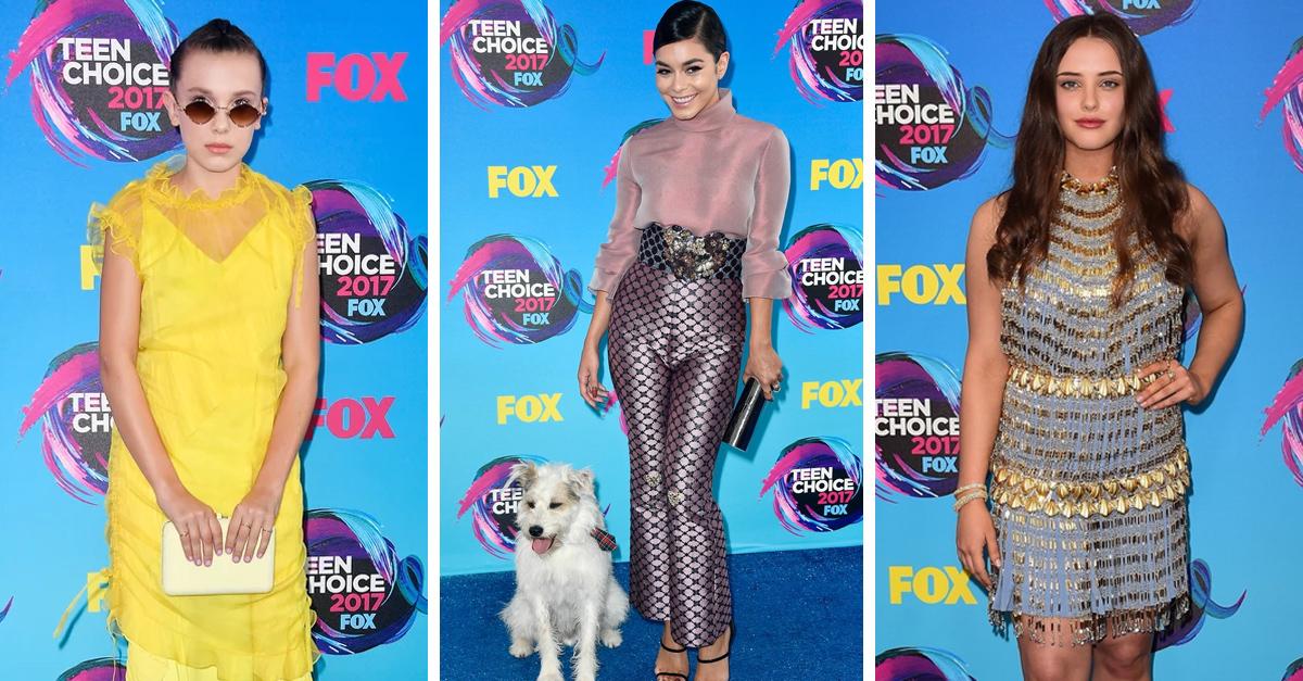 Famosas que desfilaron por la alfombra azul de los Teen Choice Awards