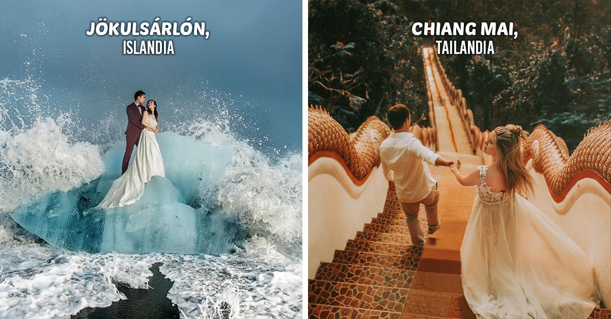 30 Fotos de los mejores destinos para parejas que te sorprenderán ¡son increíbles!
