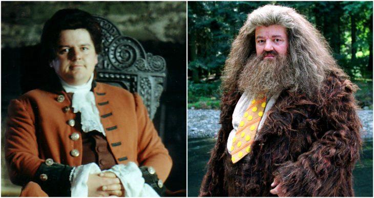 Hagrid/ robbie coltrane de joven