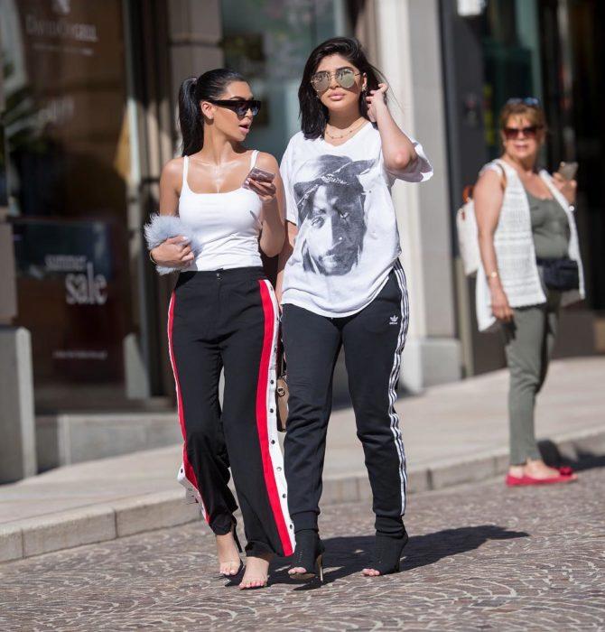 Hermanas Sonia y Fyza ali que lucen iguales a Kim y Kylie
