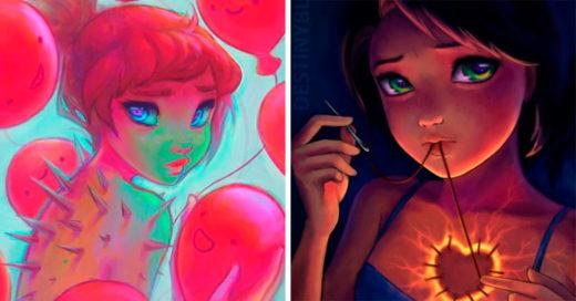 25 Ilustraciones que muestran la depresión de forma magnifica y bella
