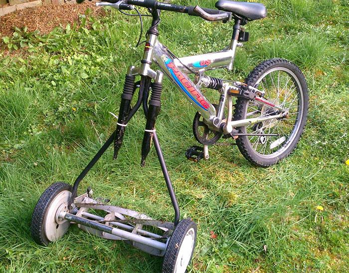 bicicleta podadora
