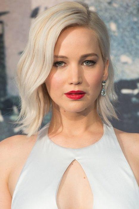 Jennifer Lawrence bob