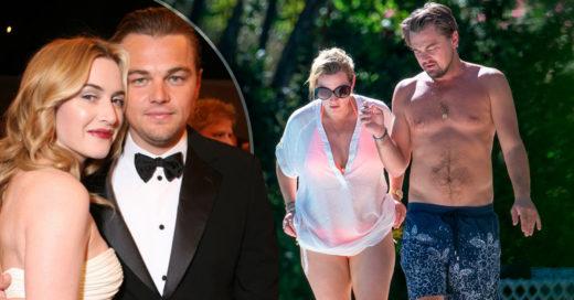Kate Winslet y Leonardo DiCaprio de vacaciones en Francia