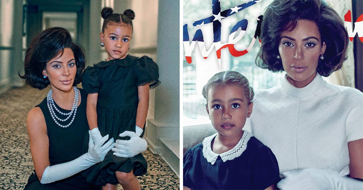 Kim Kardashian criticada por tratar de imitar a Jacqueline Kennedy