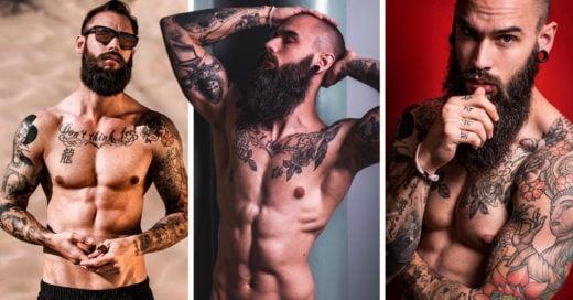 Conoce al modelo español más ardiente de Instagram: se llama Krys Pasiecznik y tiene un abdomen de acero