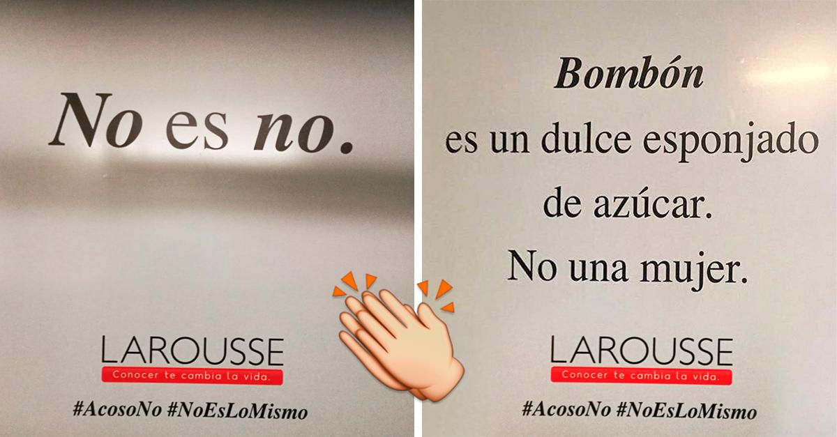La campaña más creativa contra el acoso sexual en el metro de CDMX