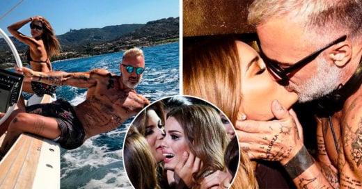 La nueva novia de Gianluca Vacchi gozó de portar la corona de Miss Universo