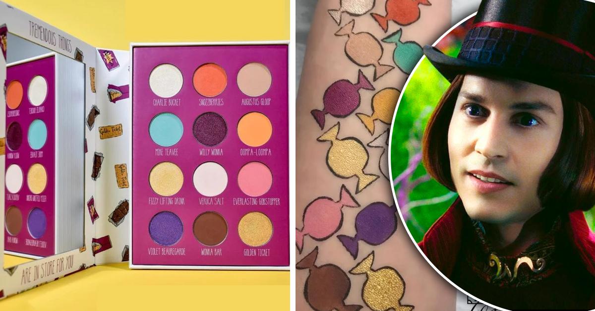 Lanzan maquillaje inspirado en Charlie y la Fábrica de Chocolate; obtén un look de caramelo