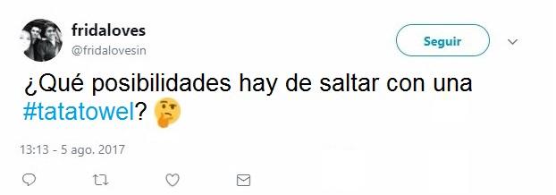 TUIT DE LAS TOALLAS TA-TA