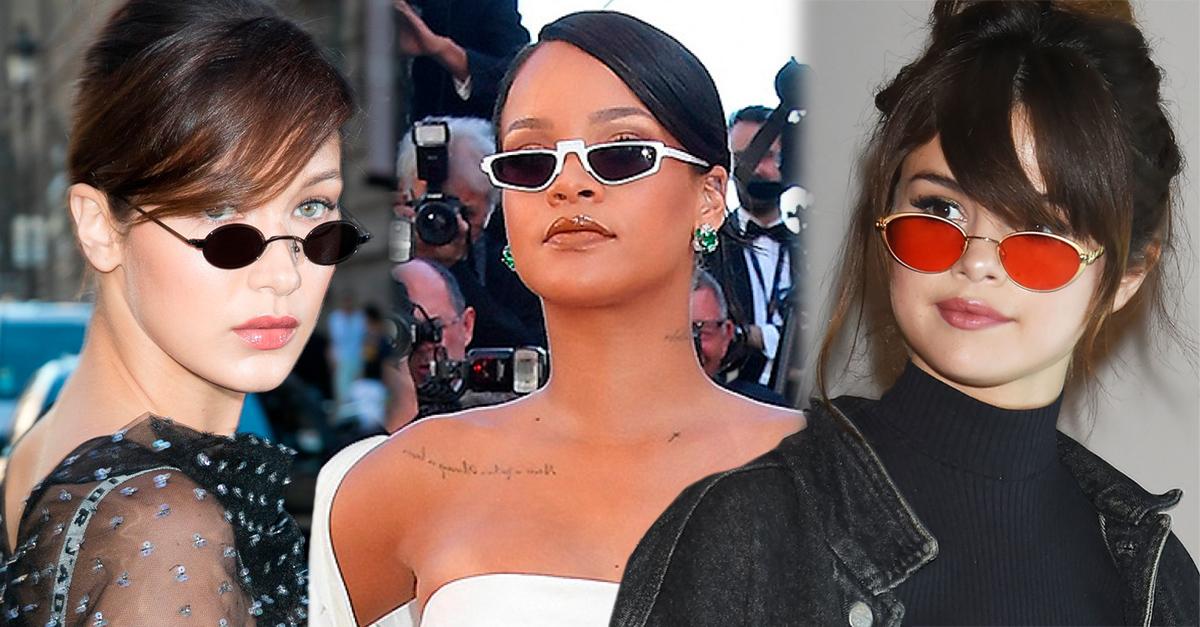 Los Tiny Sunglasses se han convertido en el accesorio favorito de las celebs