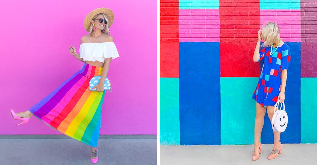 Leslie Schneider, amante de los colores