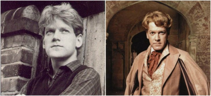 Gilderoy Lockhart Sir Kenneth Branagh de joven