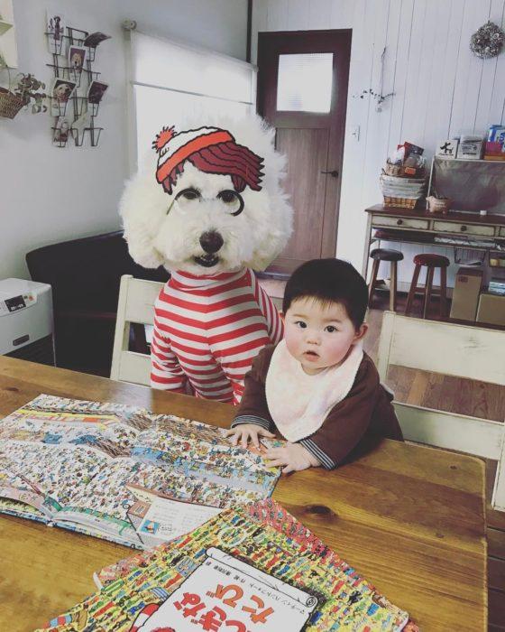 Riku y Mame buscan a Wally