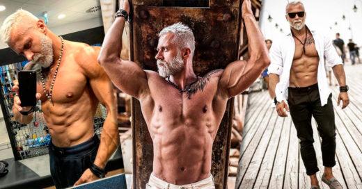 El Vikingo Polaco, el chico de 35 que luce como un hombre de 60