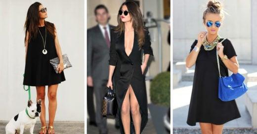 Prendas y accesorios con los que puedes combinar tu little black dress