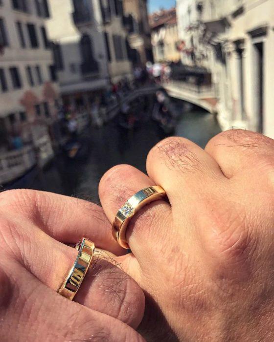 anillos de compromiso para hombres