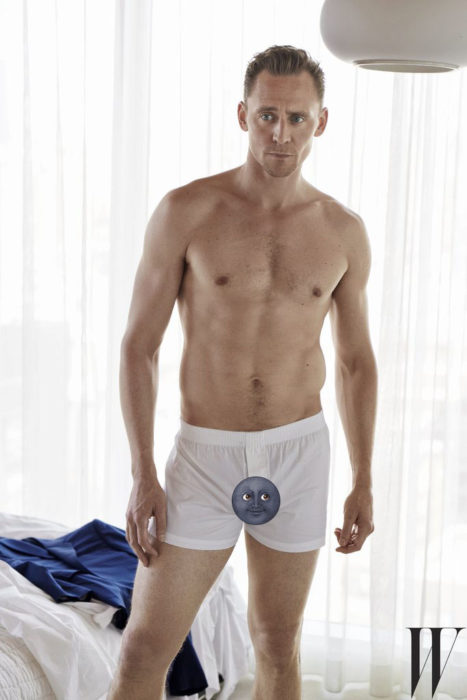 Tom Hiddleston boxer blancos