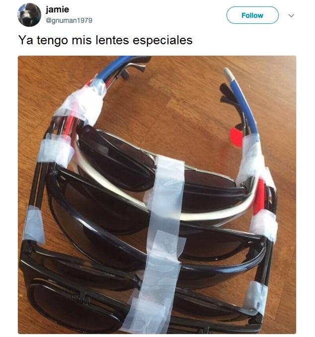 lentes entrelazados