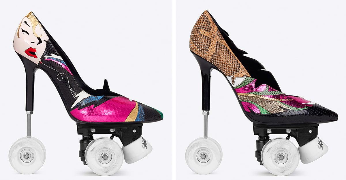 Yves Saint Laurent presenta sus nuevos tacones de patín