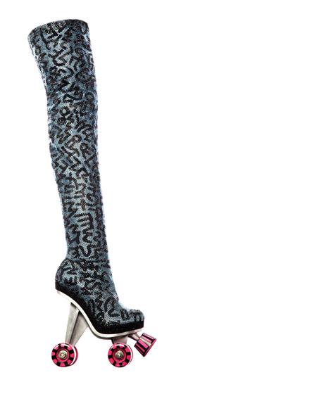 Nuevos tacones con ruedas de patines de Yves Saint Laurent