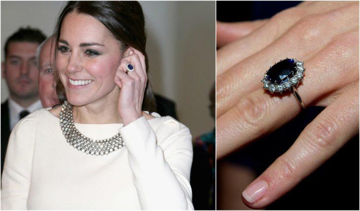 anillos de compromiso celebridades kate middleton