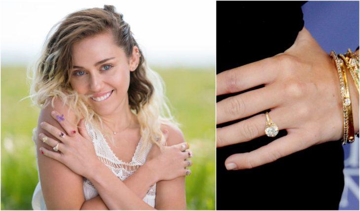 anillos de compromiso de celebridades