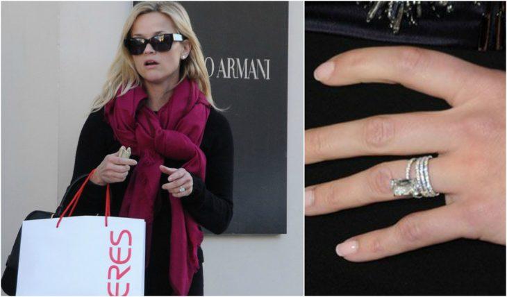 anillos de compromiso celebridades reese whiterspoon