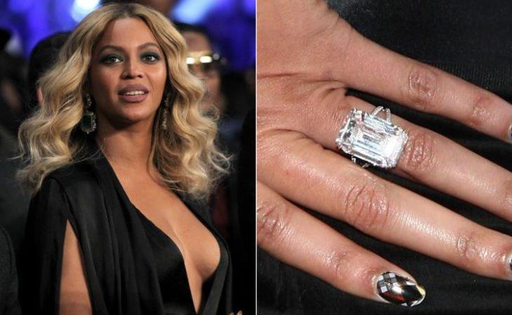 anillos de compromiso celebridades beyonce