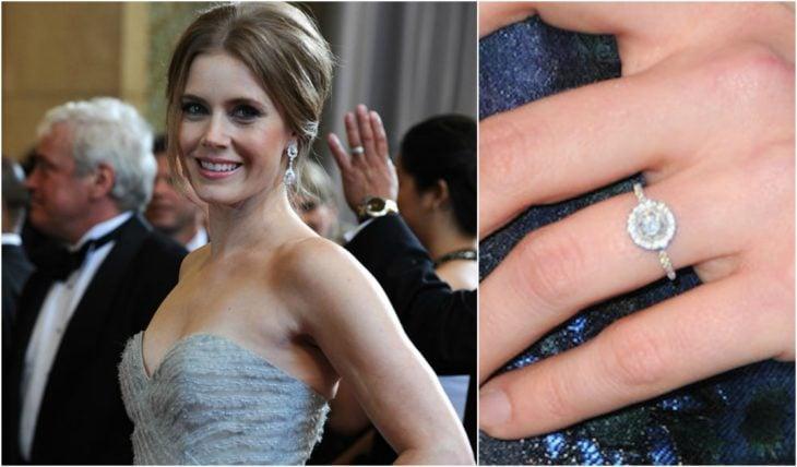 anillos de compromiso celebridades amy adams