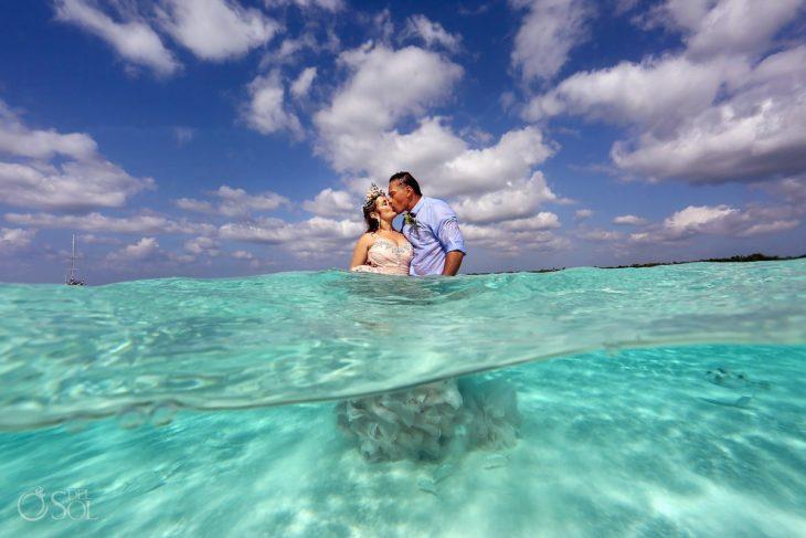 boda en el mar