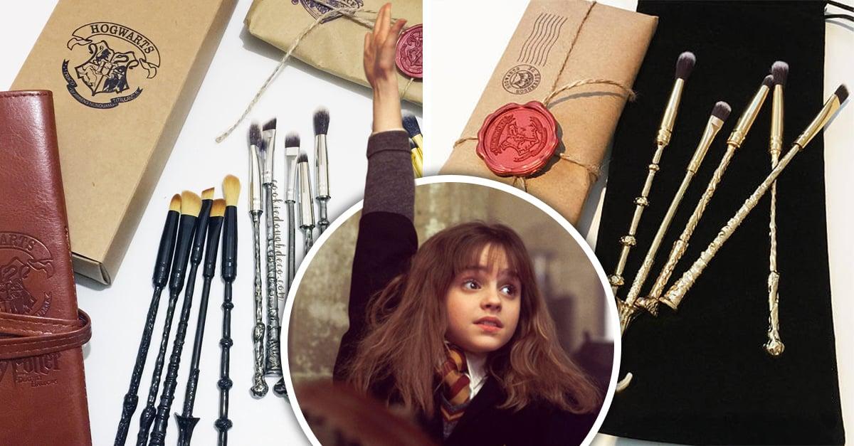 Brochas de maquillaje inspiradas en Harry Potter