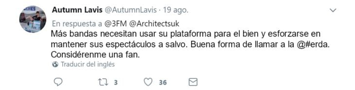 the architects twitts
